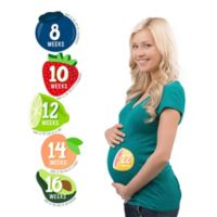 Pearhead Fruit Pregnancy Belly Stickers