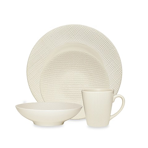 Noritake White Pepper 4-Piece Place Setting