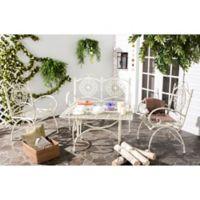 Safavieh Sophie 4-Piece Outdoor Set in White