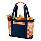 Picnic At Ascot™ Eco Large Insulated Cooler Tote in Orange/Navy