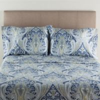 Crystal Palace 300-Thread-Count Twin Sheet Set in Blue