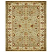 Feizy Abbey Alexandra 3-Foot 6-Inch x 5-Foot 6-Inch Area Rug in Sage/Ivory