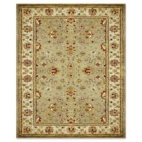 Feizy Abbey Alexandra 5-Foot x 8-Foot Area Rug in Sage/Ivory