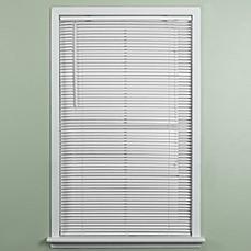 deluxe sundown room darkening blackout noise reducing insulating mini blind in white