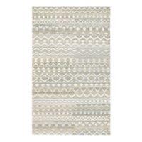 Couristan® Casbah Purnia 3-Foot 5-Inch x 5-Foot 5-Inch Area Rug in Natural/Cream