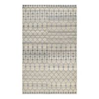Couristan® Casbah Akola 3-Foot 5-Inch x 5-Foot 5-Inch Area Rug in Natural/Grey