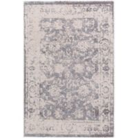 Surya Apricity Floral 2-Foot x 3-Foot Accent Rug in Cream