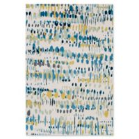 Surya Apricity Abstract 5-Foot 3-Inch x 7-Foot 6-Inch Area Rug in White