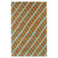 Kaleen Pastiche Fiber 5-Foot x 7-Foot 9-Inch Multicolor Area Rug