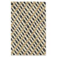Kaleen Pastiche Fiber 8-Foot x 10-Foot Area Rug in Grey