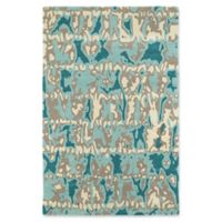Kaleen Pastiche Musings 3-Foot x 5-Foot Area Rug in Robin's Egg