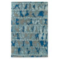 Kaleen Pastiche Musings 9-Foot x 12-Foot Area Rug in Blue