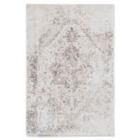 Surya 5-Foot 3-Inch x 7-Foot 6-Inch Apricity Area Rug in White