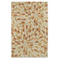 Kaleen Rosaic 2-Foot x 3-Foot Accent Rug in Beige