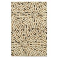 Kaleen Rosaic 8-Foot x 11-Foot Area Rug in Brown