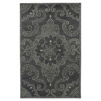 Kaleen Rosaic Pindots 2-Foot x 3-Foot Accent Rug in Charcoal