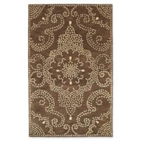 Kaleen Rosaic Pindots 9-Foot 6-Inch x 13-Foot Area Rug in Brown