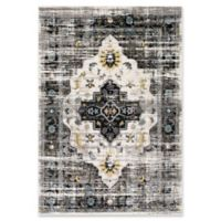 Surya Ainesdale 5-Foot 3-Inch x 7-Foot 6-Inch Area Rug in Black