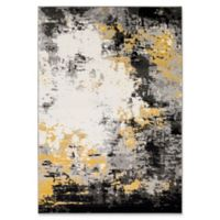 Surya Aldenwale 5-Foot 3-Inch x 7-Foot 6-Inch Area Rug in Black