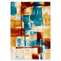 Style Statements by Surya Alejo 5-Foot 3-Inch x 7-Foot 6-Inch Area Rug in Mustard