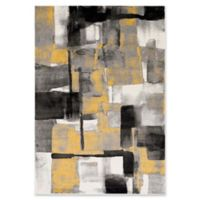 Style Statements by Surya Alejo 5-Foot 3-Inch x 7-Foot 6-Inch Area Rug in Black