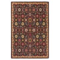 Statements By Surya Alok 5-Foot 3-Inch x 7-Foot 6-Inch Area Rug in Black