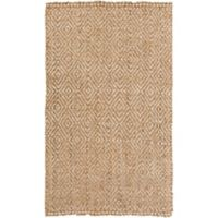 Surya Denchya 3-Foot 3-Inch x 5-Foot 3-Inch Area Rug in Tan