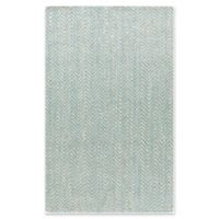 Surya Denchya 5-Foot x 8-Foot Area Rug in Aqua