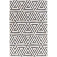Surya 2-Foot x 3-Foot Hadrian Accent Rug in Charcoal