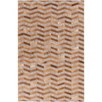 Surya 2-Foot x 3-Foot Hadrian Accent Rug in Chocolate