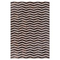 Surya 2-Foot x 3-Foot Hadrian Accent Rug in Ebony