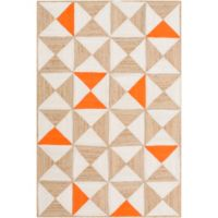 Cottica 4-Foot x 6-Foot Accent Rug in Orange