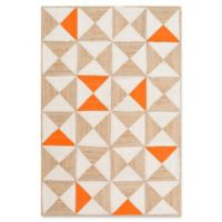 Cottica 5-Foot x 7-Foot 6-Inch Area Rug in Orange