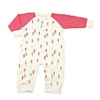 Silkberry Baby® Size 0-3M Red Trees Romper in Ivory