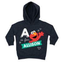 Sesame Street Size 5-6T Chalkboard Heart Pullover Hoodie in Grey