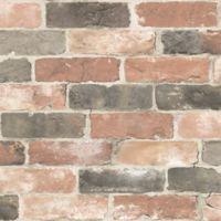 NuWallpaper™ Newport Reclaimed Brick Peel and Stick Wallpaper