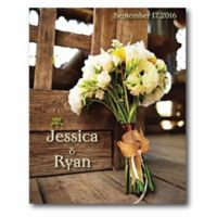 Courtside Market Bouquet at the Barn Canvas Wall Art