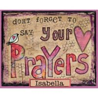 "Courtside Market ""Say Your Prayers"" Canvas Wall Art"