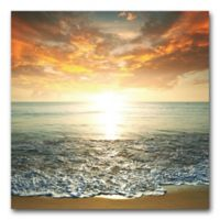 Sunrise Glass Wall Art