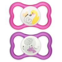 MAM Air Ages 6+ Months Pacifier in Pink (2-Pack)