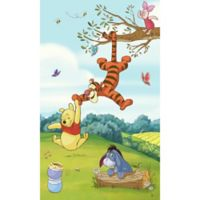 Pooh & Friends Peel and Stick Mural Wall Art