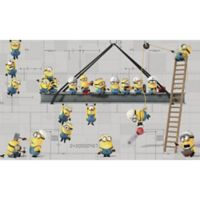 Minions Peel and Stick Mural Wall Art