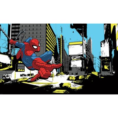 Marvel® Spider Man Classic Peel And Stick Mural Wall Art