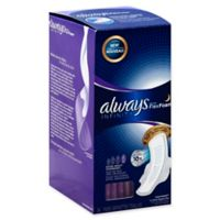 Always 24-Count Extra Heavy Overnight Pads With Wings