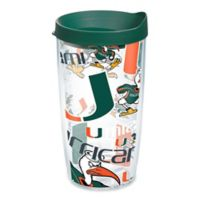 Tervis® University of Miami All Over 16 oz. Wrap Tumbler with Lid