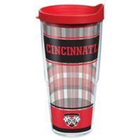 Tervis® University of Cincinnati Tartan 24 oz. Wrap Tumbler with Lid
