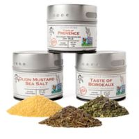 Gustus Vitae 3-Pack Artisan French Spice Collection