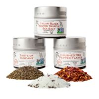 Gustus Vitae 3-Pack Gourmet Italian Spice Collection