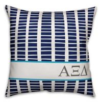 Designs Direct Alpha Xi Delta Greek Sorority 18-Inch Square Throw Pillow in Blue