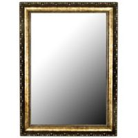 Hitchcock-Butterfield 28-Inch x 38-Inch Roman Beaded Wall Mirror in Gold